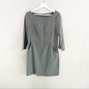 GAP Grey Shift Dress with Pockets